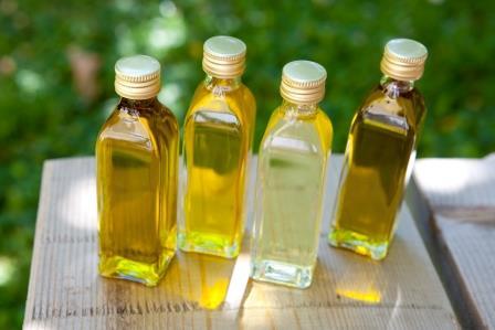 Репейное масло в флаконах