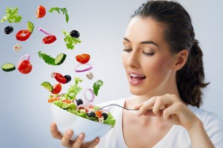 Приготовление полезного салата