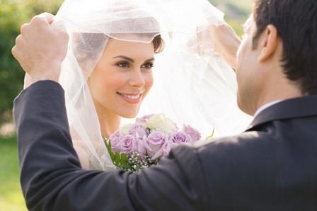 Моменты свадебной церемонии