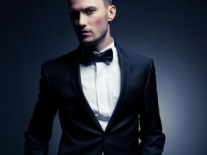 Джентльмен в костюме