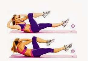 Фитнес для укрепления мышц живота