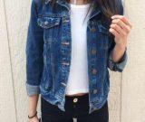 С чем носить джинсовую куртку лучше всего?