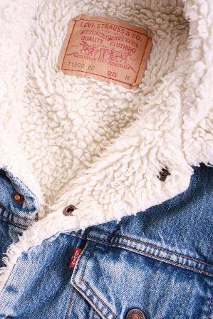 Джинсовая куртка с утеплением
