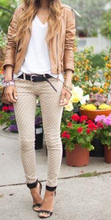 Обтягивающие штаны