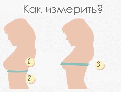 Как измерить объем груди