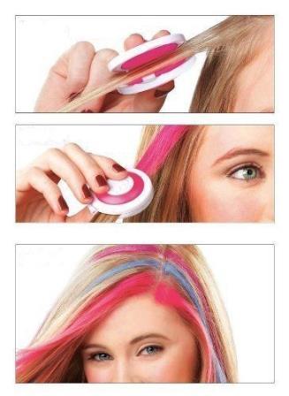 Мелки-тени для волос