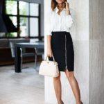 Офисный стиль одежды для девушек