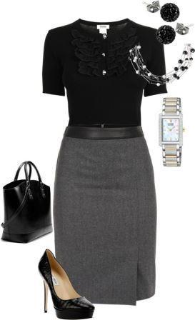 Подборка одежды для офисного стиля